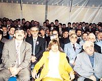 Abdullah Gül, Tansu Çiller ve Fethullah Gülen, Asya Finans'ın açılışında! (25 Ekim 1996).