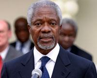 Annan'dan Iraklılara tebrik