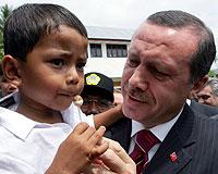 Erdoğan felaket bölgesinde