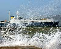 Gökçeada'ya deniz ulaşımı sağlanamıyor