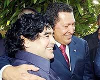 Maradona: Chavez'e aşığım