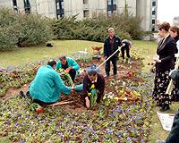 'Türkiye'nin Çicekleri Bahçesi' Meclis'te açıldı