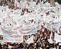 Bağdat'ta ABD karşıtı gösteri