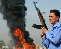 Bağdat'ta iki patlama