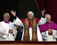 Yeni Papa Alman Kardinal Ratzinger oldu