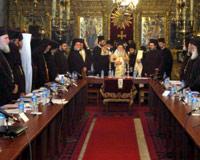 Patrikhane toplantısına suç duyurusu
