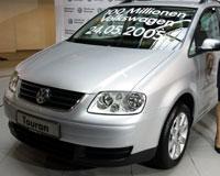 100 milyonuncu Volkswagen