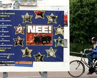 Hollanda da AB Anayasası'na 'Hayır' dedi