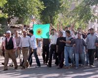 Diyarbakır'da arbede