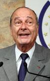 Chirac, kırdı geçirdi
