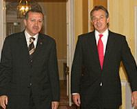 Londra'da Erdoğan-Blair zirvesi