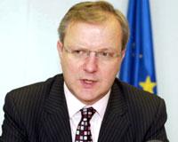 Rehn: Rum kesiminin tanınması şartlara dahil değil