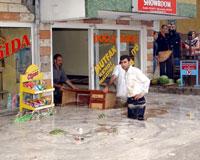 Erzurum'da sel: 2 ölü