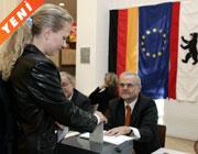 Alman halkı <br>liderini seçiyor