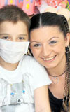 Kanserli miniklerin koruyucu melekleri