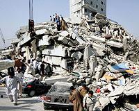 Pakistan 7,6'lik depremle sarsıldı