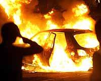Şiddet olayları Paris dışına sıçradı