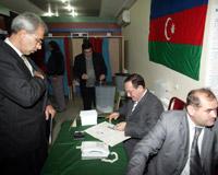 Azerbaycan'da seçim günü