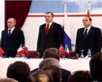 Liderler Mavi Akım'da buluştu