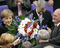 Almanya'nın ilk kadın başbakanı