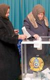 Kazakistan'da seçim günü