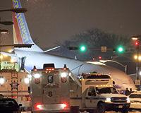 ABD'de uçak pistten çıktı: 1 ölü