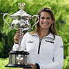 Avustralya'da şampiyon Mauresmo