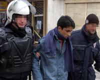 Van'da izinsiz gösteri; 10 gözaltı