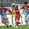 Cimbom liderliği Trabzon'da kaptırdı: 1-1