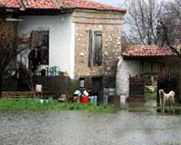 Muğla'da su baskını