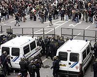 Fransa'da büyük protesto