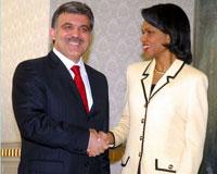Rice: PKK terörünün engellenmesi için birlikte çalışacağız