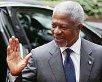 Annan 5 Eylül'de Ankara'ya geliyor