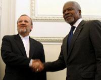 Kofi Annan İran'da