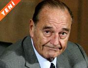 Chirac'tan 'çok üzgünüm' telefonu