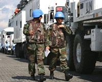 Türk askerleri G.Lübnan'da görev yerine yerleşti