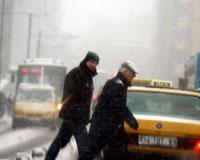 İstanbul'da yılın ilk karı