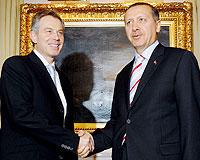 Erdoğan-Blair ortak basın toplantısı