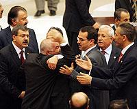 Meclis'te küfürlü tartışmalar