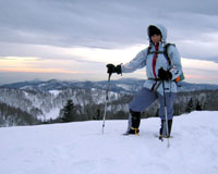 Türk kadın dağcının anlamlı tırmanışı
