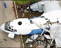 Türk işçileri taşıyan uçak düştü: 32 ölü