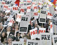 İspanya'da ETA'ya karşı gösteriler düzenlendi