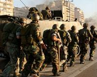 Beyrut'ta sokağa çıkma yasağı ilan edildi