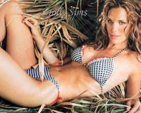 Top model Molly Sims Türkiye'de