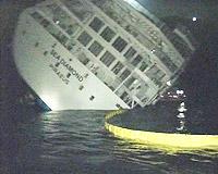 Batan gemiden dehşet anları